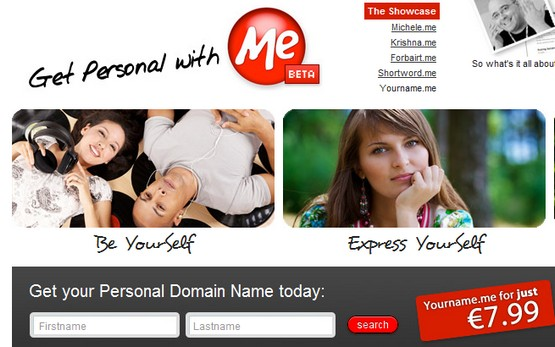 Get Personal With .me