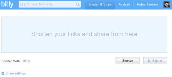 Bit.ly URL Shortener