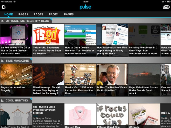 Pulse me Is The Most Scrollable News Reader Out There for Your